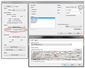 Advanced rendering in revit augi the world 39 s largest - Revit exterior rendering settings ...