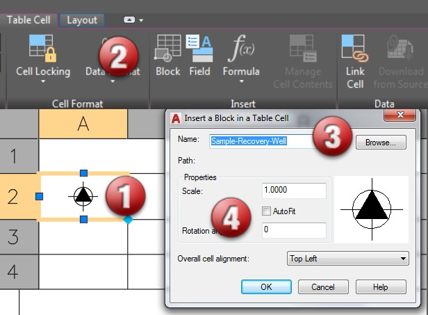 Tackling Tables in AutoCAD | AUGI - The world's largest CAD