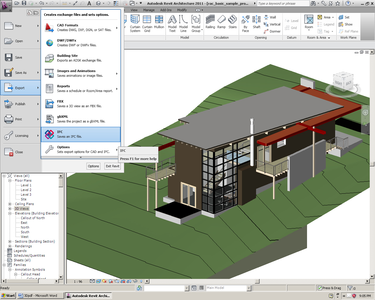 Revit to pdf an interactive model viewer augi for Autodesk online home design