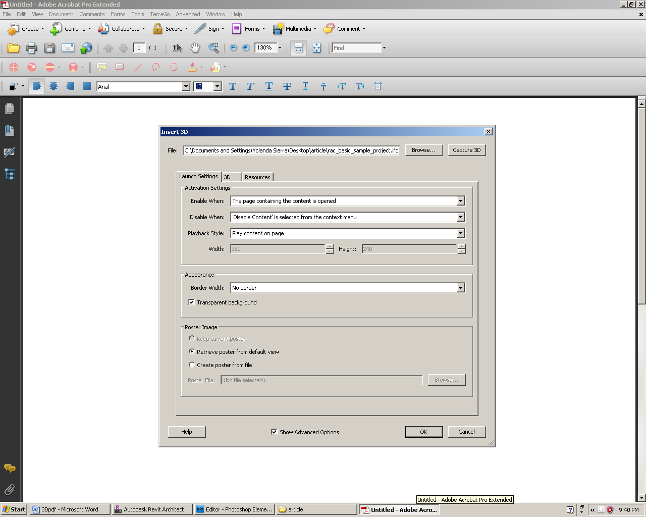 Revit to PDF: An Interactive Model Viewer | AUGI - The world's