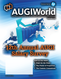 AUGIWorld September 2013 Issue